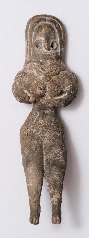 Терракотовая фигурка женщины. 3-е тыс. д.н.э.