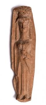 Финикия. Терракотовое изображение богини.