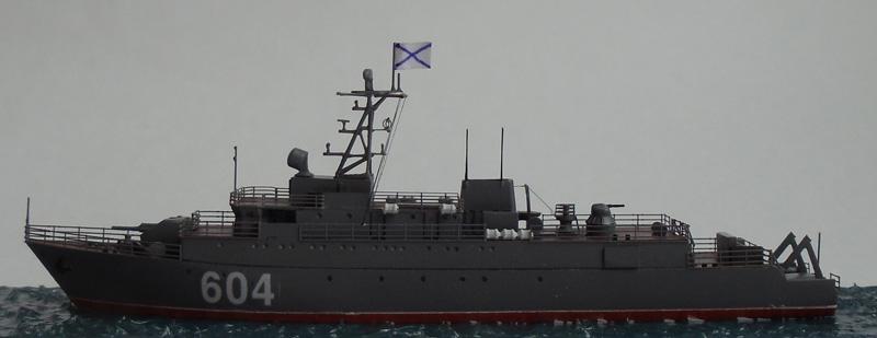 Морской тральщик проекта 12660 Железняков