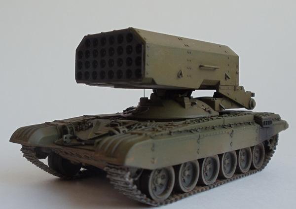 Огнеметная система ТОС-1 Буратино