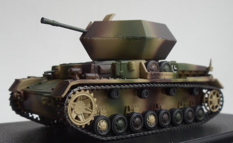 Зенитная установка Flakpz.IV Ostwind 37мм