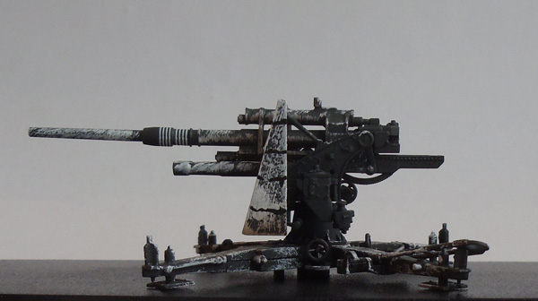 Зенитная 88-мм пушка Flak-36, Германия