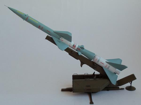 ПУ зенитной ракеты С-75