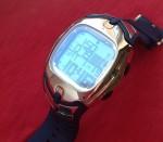 Золотые водонепроницаемые электронные часы D'ART (USA)