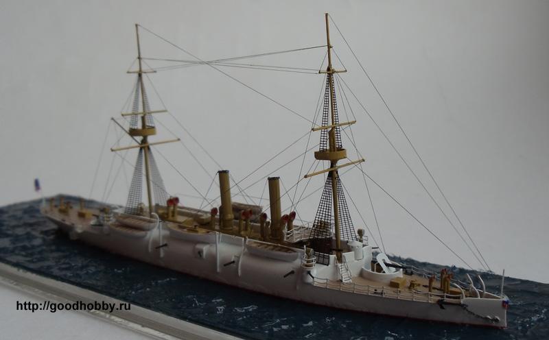 Американский броненосный крейсер Атланта, 1886г.