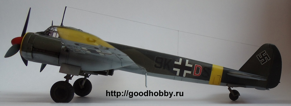 Бомбардировщик Ю-88. 1/72