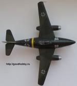 Германский реактивный истребитель Ме-262. Масштаб 1/72