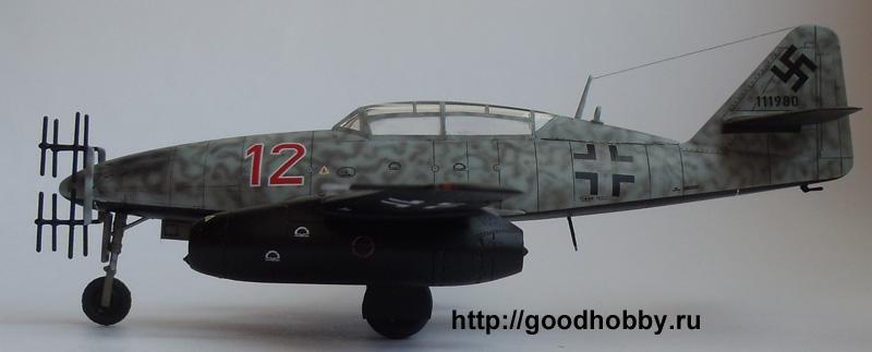 Германский реактивный истребитель Me 262 B-1a/U1 Nightfighter