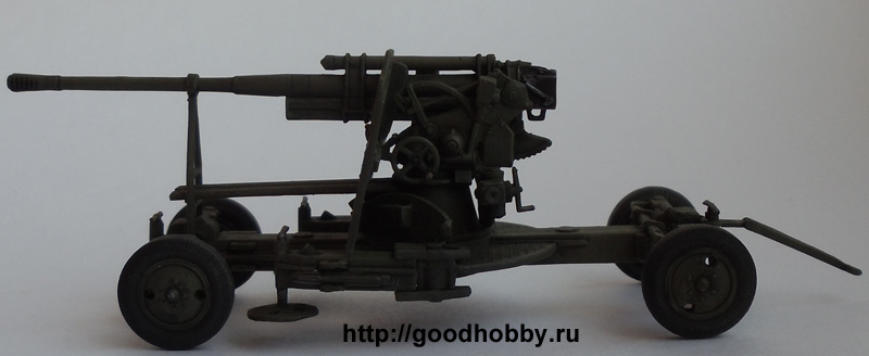 Советская зенитная пушка 52-К 85мм (поздняя версия)