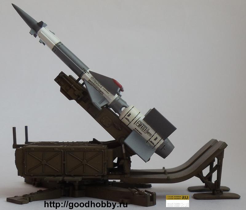 ЗРК С-125 Печера. Масштаб 1/72
