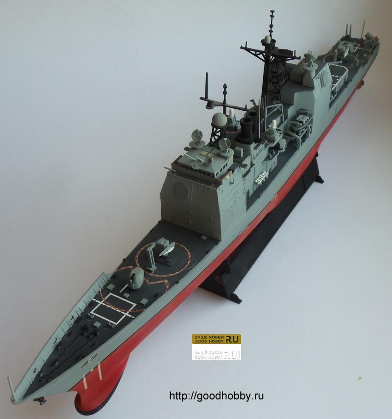 Американский крейсер УРО Тикондерога