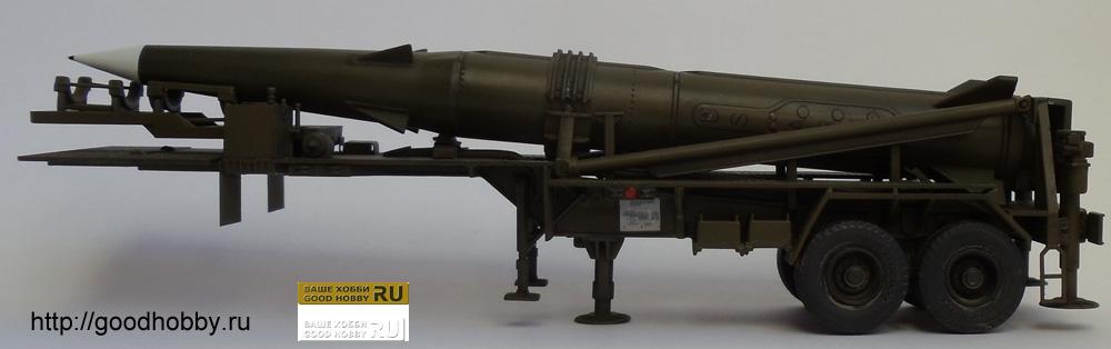 Балистическая ракета средней дальности MGM-31C «Першинг 2»