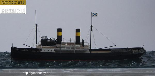 Буксирный пароход Русь