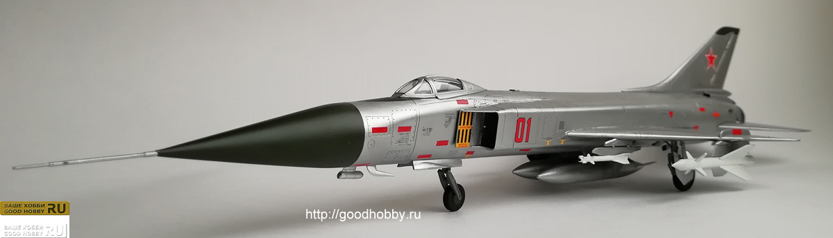 Советский перехватчик Су-15А