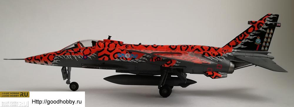 Британский истребитель Ягуар