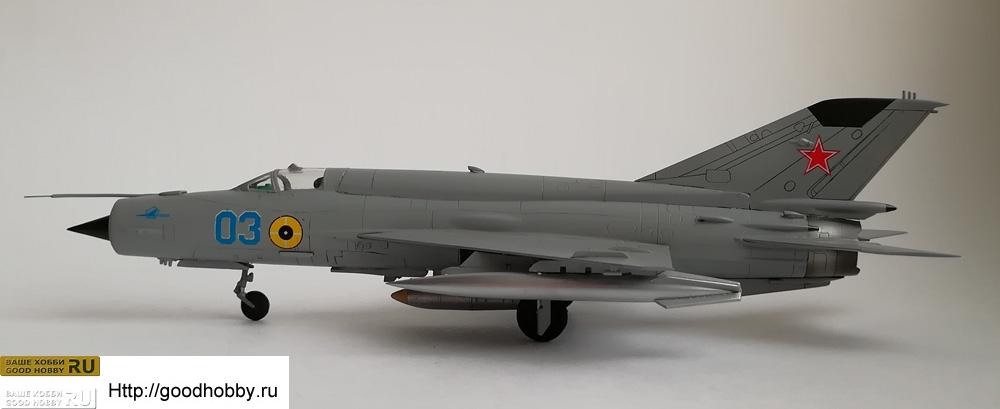 МИГ-21 бис с изделием РН-28