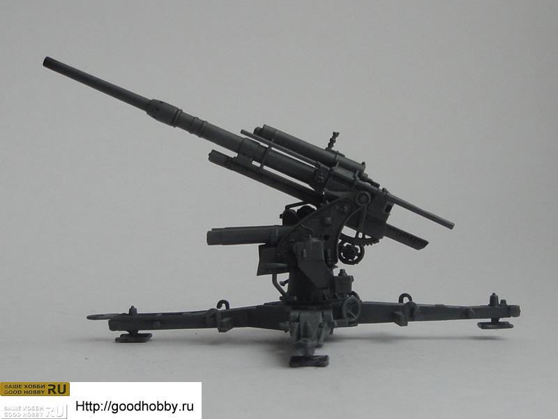 Flak 36/37. 88mm AA gun