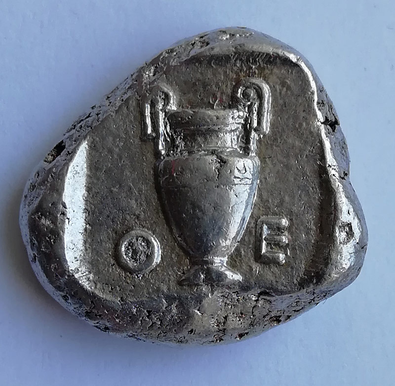Беотия (Фивы). Статер 4 в.д.н.э.