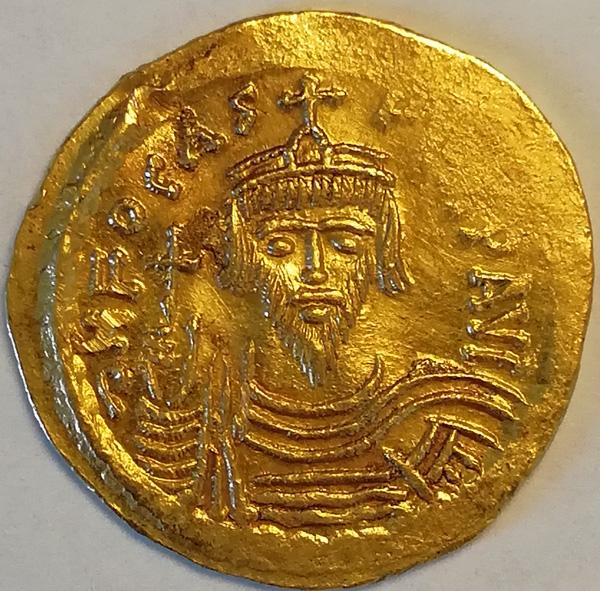 Византийская империя. Солид. Фока