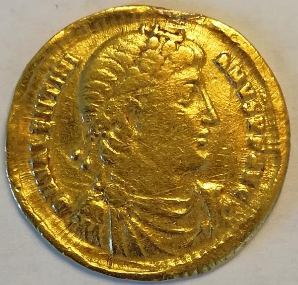 Рим. Валентиниан. Золотой солид