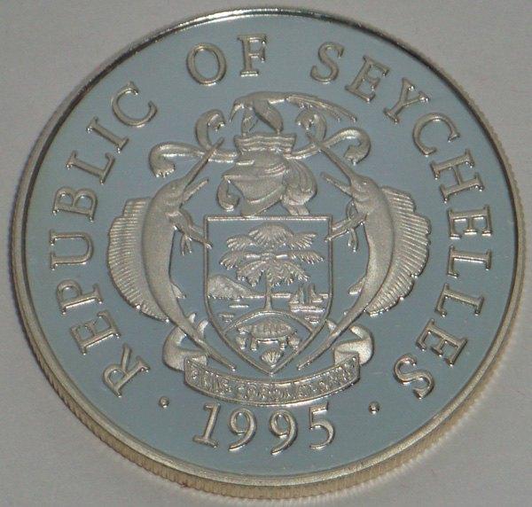 Сейшельские острова, 25 рупий