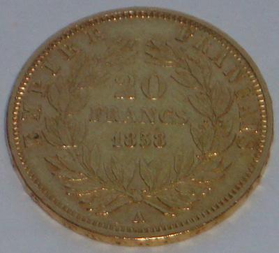 Франция, 20 франков