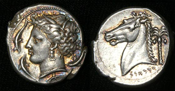 Siculo-Punic Coinage.